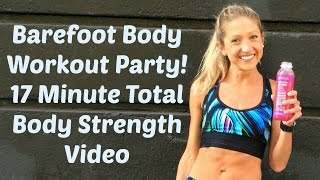 Balanced Body Barefoot Workout Party. Total Body Strength and Tone  Workout.