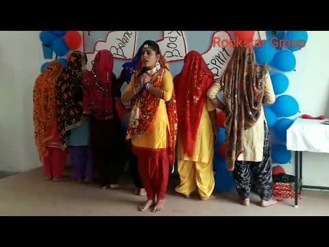khedan de din char/ Isha Arora/Aaryabhat college of nursing students