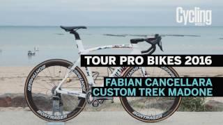 Pro Bikes of 2016: Fabian Cancellara's Trek Madone custom Spartacus