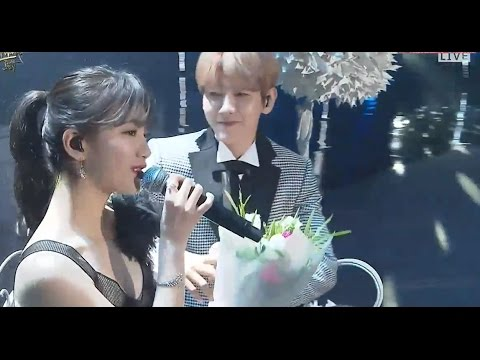 "Suzy 수지 & BAEKHYUN 백현 Live Performance ""Dream"" @The 31st Golden Disc Awards 2017"