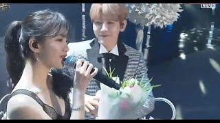 "Gambar cover Suzy 수지 & BAEKHYUN 백현 Live Performance ""Dream"" @The 31st Golden Disc Awards 2017"