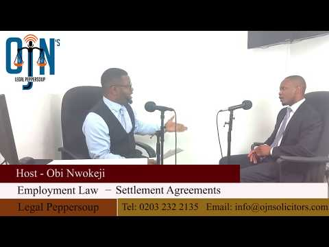 Settlement Agreements in Employment law - Employment Solicitors