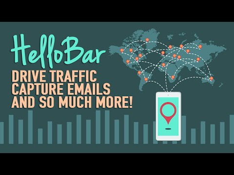 HelloBar - Drive Traffic. Capture Emails. So Much More - 동영상