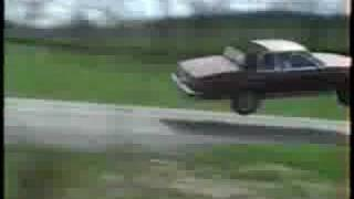 Insane Jump by a Buick La sabre