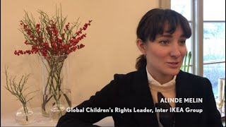 IKEA's Alinde Melin talks about how we can involve children in our businesses