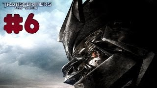 Transformers: The Game - Walkthrough - Part 6 - SOCCENT Military Base | Decepticons (PC) [HD]