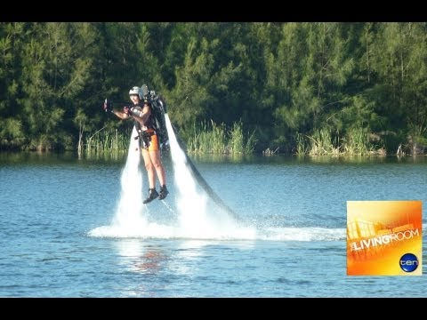 Water Jet Pack Dr Chris Brown And Katrina Kavvalos The Living Room Youtube
