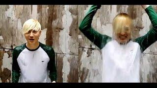 EXO- Baekhyun, Kai, Lay, Chanyeol  Ice Bucket Challenge