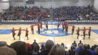 dancefullout13 edina dance team kick 2014