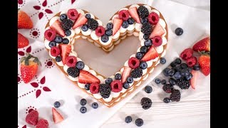 "Рецепт ""Торт - сердце"""