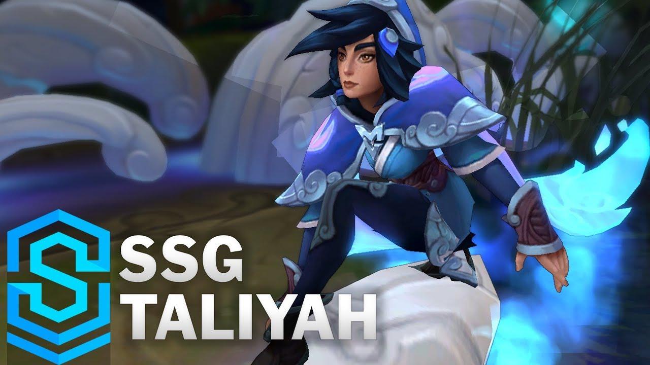 SSG Taliyah Skin Spotlight - Pre-Release - League of Legends