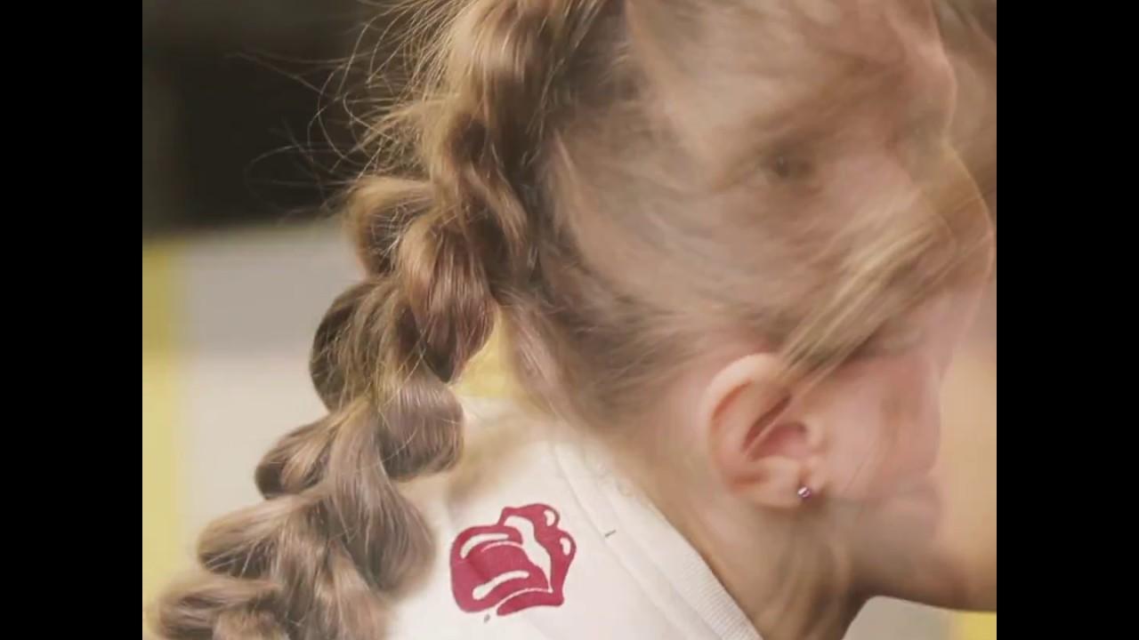 Oryginalny Warkocz Zrób To Sam Idealna Fryzura Do Szkoły I Przedszkola By Lilylifepl
