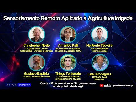 WEBINAR DE IRRIGAÇÃO - Sensoriamento Remoto Aplicado à Agricultura Irrigada