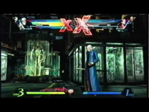 Ultimate Marvel vs Capcom 3 Arcade [Power Rangers Team (Zero, Jill, Vergil)]  