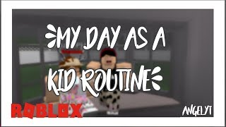Welcome To Bloxburg: My Day as a Kid (Roblox Roleplay) | AngelYT