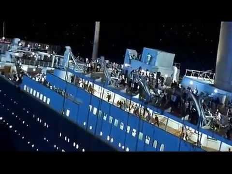 Titanic Scene Grand Staircase Flooding Youtube