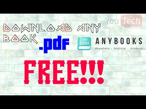 Download Any Book .pdf For Free 100% Working.. Watch to Know More..