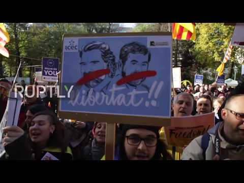 Belgium: 'Europe will suffer' - Catalan MEP blasts EU for supporting Spain at rally