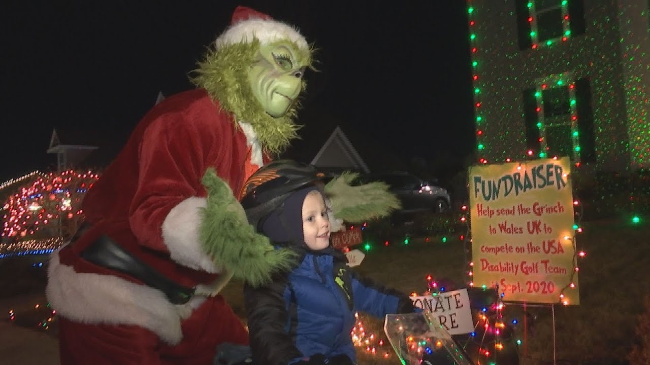 Medford's Grinch brings cheer with a