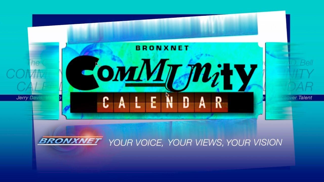 Community Calendar | Jan 10 - 16, 2017