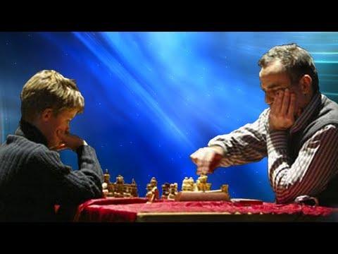 Garry Kasparov vs Magnus Carlsen  Reykjavik Rapid 2004
