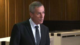 Attaques dans l'Aude: conférence de presse du procureur (1)