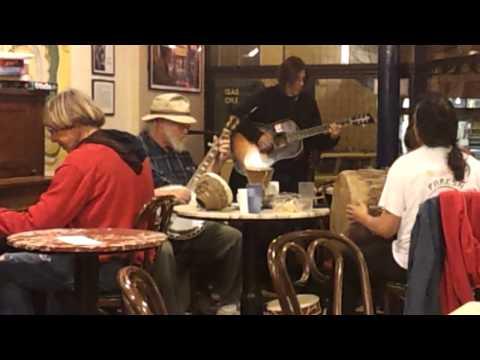Musicians at Caffe Mediterraneum, evening of March 8th
