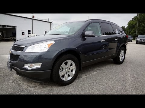 Used Chevy Traverse >> 2011 CHEVROLET TRAVERSE 2LT - YouTube