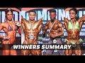 IBBF 12th Mr. INDIA 2019 All Winners Summary