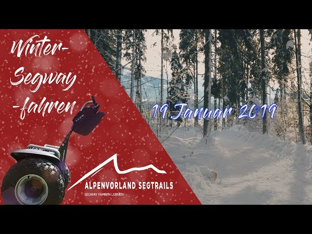 Segway Schnee Tour in Westendorf - am 19.Januar 2019