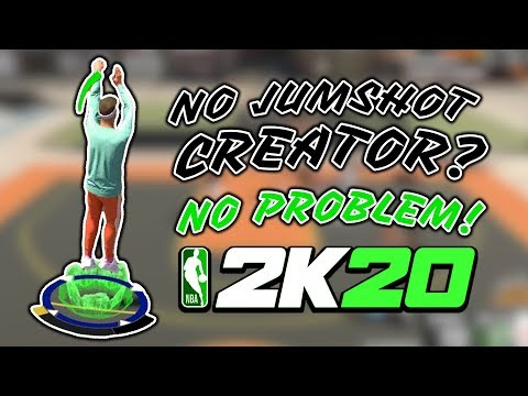 Best Jumpshot To Use Without Jumpshot Creator NBA 2K20