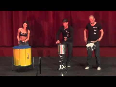Brazilian Dance Academy Drumming at the Capri Theatre