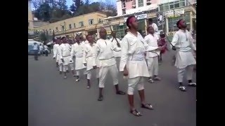 Birthday celebration of Atse Tewodros at Gonder Town Ethiopia.