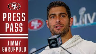 Jimmy Garoppolo Highlights His Favorite Moments of SB Week | 49ers