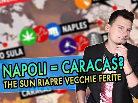 NAPOLI come CARACAS? Internet indignatissimo per un grafico comparso su THE SUN