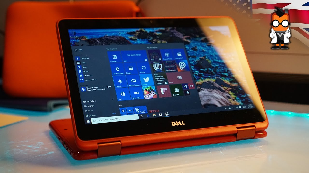 754f6e104 Dell Inspiron 11 3000 2 in 1 Hands On - YouTube