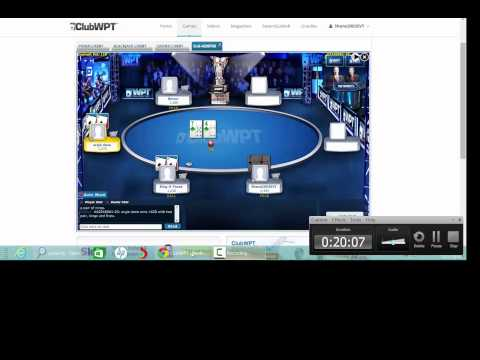 How to win an Online Poker Tournament on ClubWPT