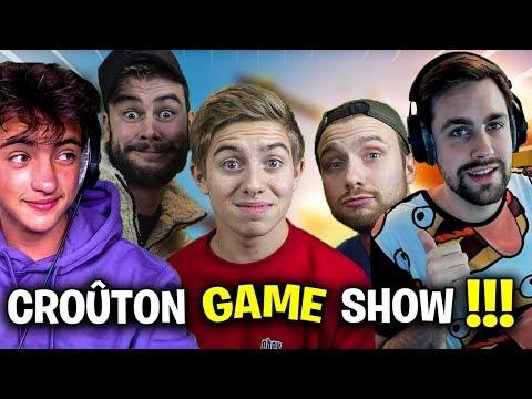 🔴 C'EST L'HEURE DU CROUUUUUUUUUTON GAME SHOWWWWWWW !!! Fortnite Créatif mode