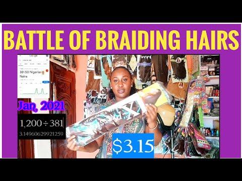 A Nigerian Salon Series: Reviewing popular braiding hairs in Nigeria