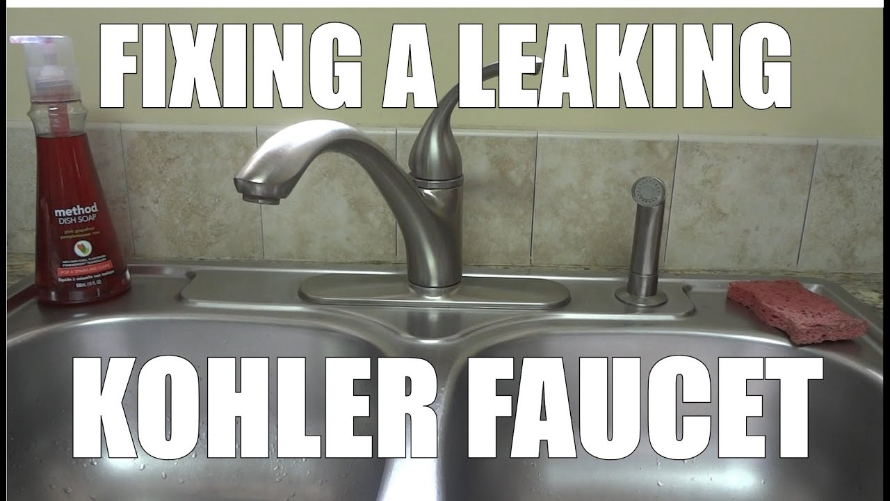 Fixing A Leaking Faucet By Replacing The O Ring And Cartridge From A Kohler Forte Youtube