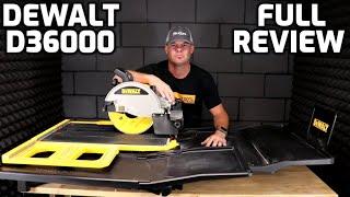 Dewalt D36000 Tile Saw Full Review Best Large Saw 2020