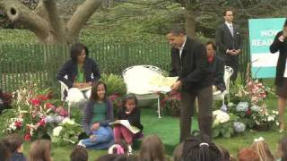 The President Reads Where the Wild Things Are