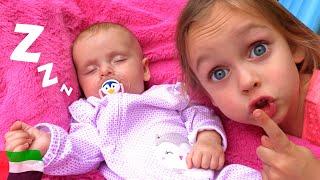 أغنية للطفل هل أنت نائم   Kids Song by Maya and Mary