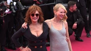 Cannes: Les stars en nombre sur le tapis pour le 2e jour