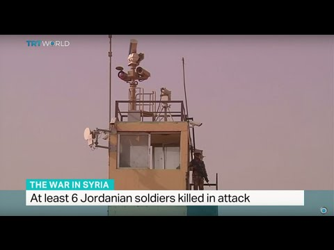 At least 6 Jordanian soldiers killed in attack