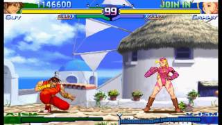 Street Fighter Alpha 3(Zero 3) Expert difficulty Guy 2:0 Playthrough