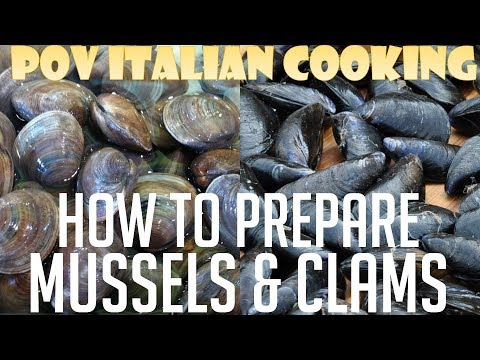 How to Clean and Prepare Mussels and Clams: POV Italian Cooking Special Episode
