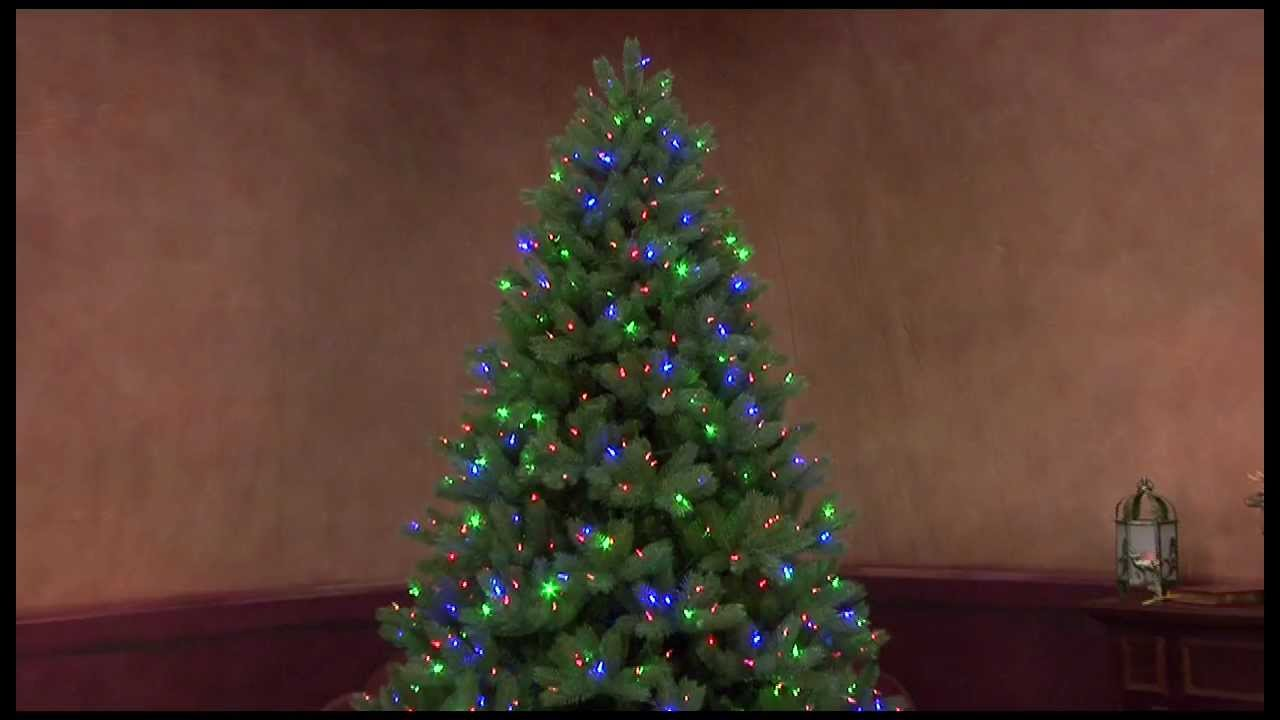 Color Choice® Pre-lit Tree - YouTube