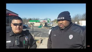Mcloud, Ok PD just can't accept Open Carry of my AR-15 and wants to try and Boss me around. .