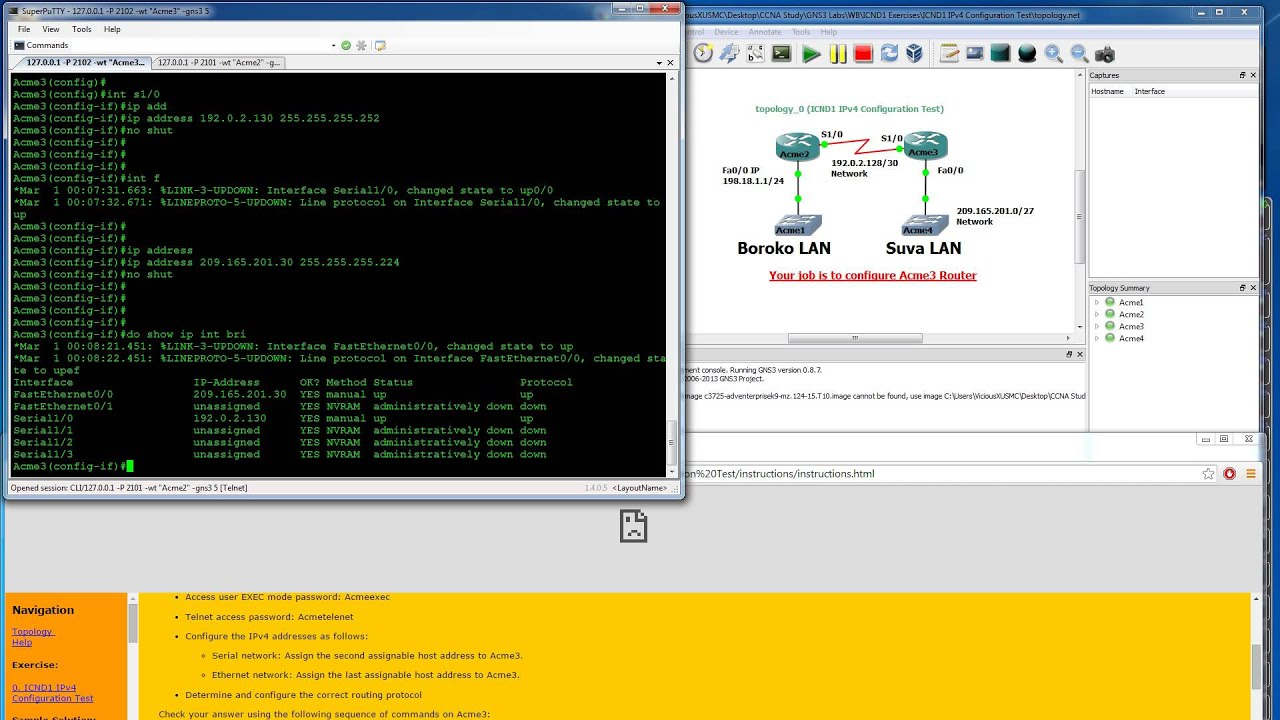 Gns3 Labs Ios (for Ccnp) - Gns3 Labs For Ccnp